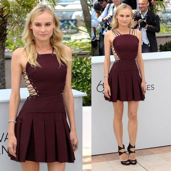 Diane Kruger in Versus - 2012 Cannes Film Festival Jury Members Photocalls